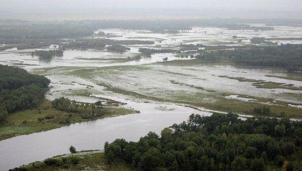 Наводнение в России: уровень воды в Амуре бьет все рекорды