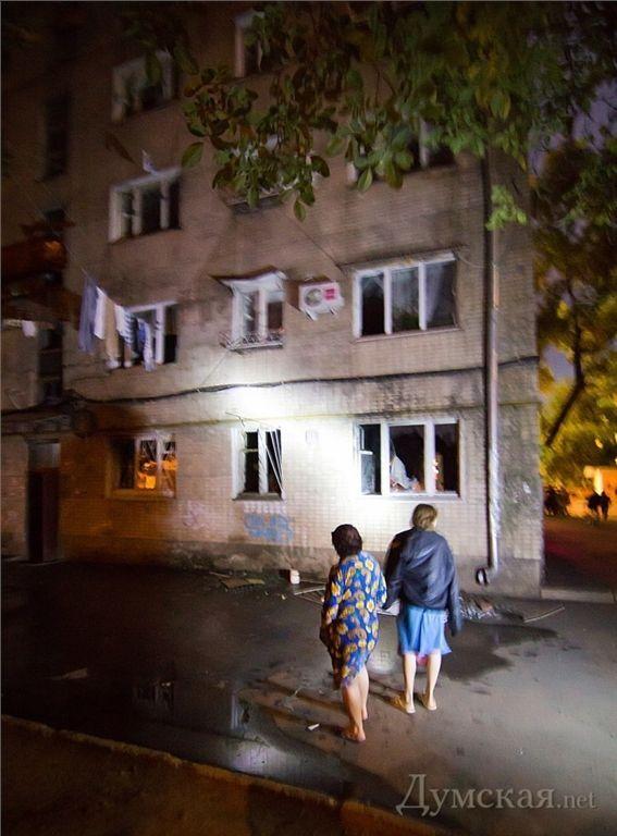 В Одесі горів житловий будинок