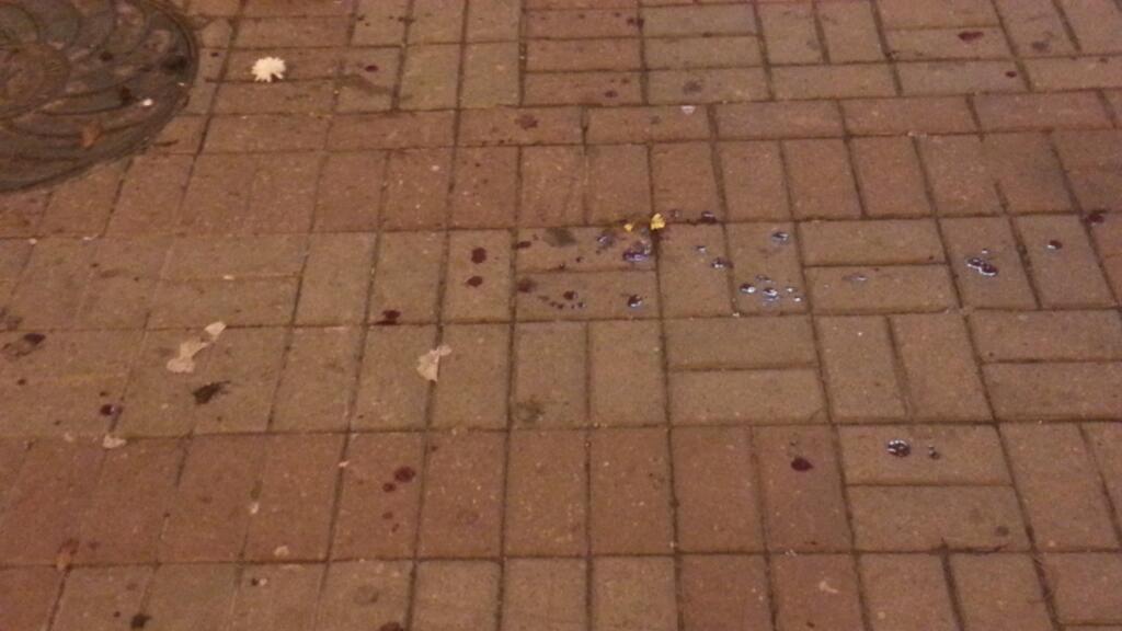 На фанатов сборной Англии напали в центре Киева
