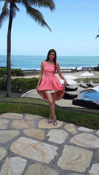 """""""Міс Україна"""" показала, як і з ким проводить час на Балі"""