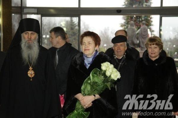 """Дружина Януковича сходила на """"культурну"""" ялинку"""
