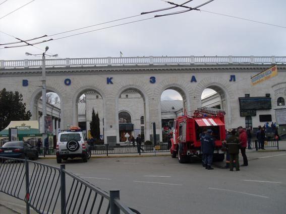 """В Симферополе задержали """"минера"""" поезда"""