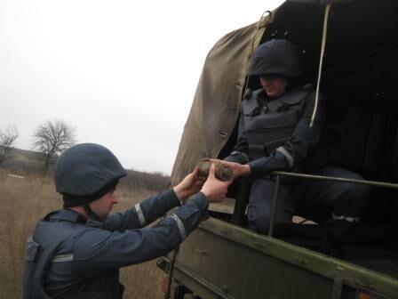 На Кіровоградщині знайшли 39 бойових снарядів часів війни