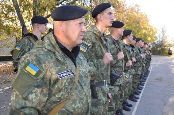 В зону АТО отправился новый отряд силовиков: опубликованы фото