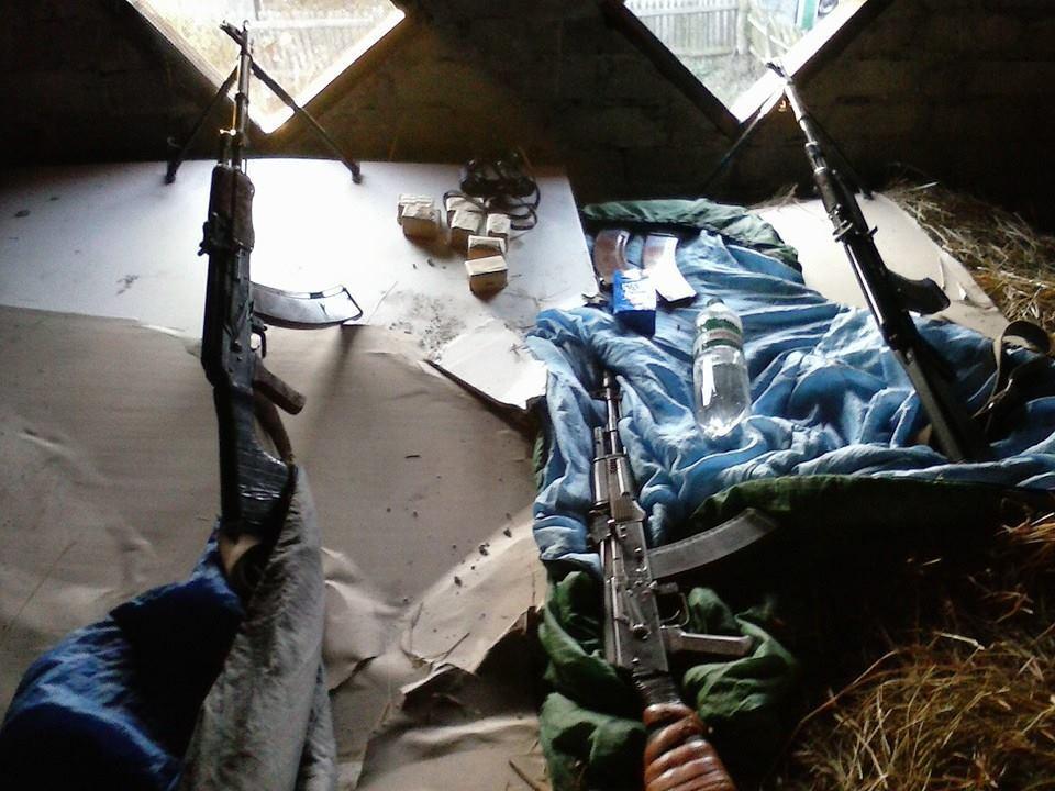 """""""Киборг""""-студент обнародовал фото из зоны обстрела донецкого аэропорта"""