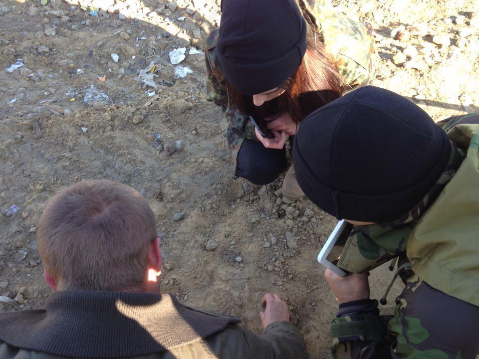 Систему наведения огня в зоне АТО тестирует 23-летняя девушка: опубликованы фото