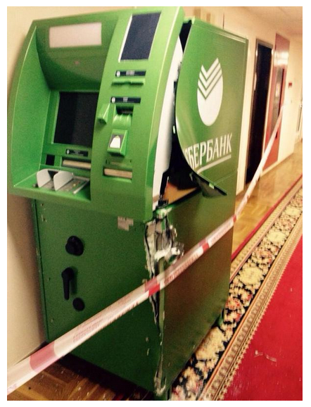 В здании Госдумы ограбили банкомат