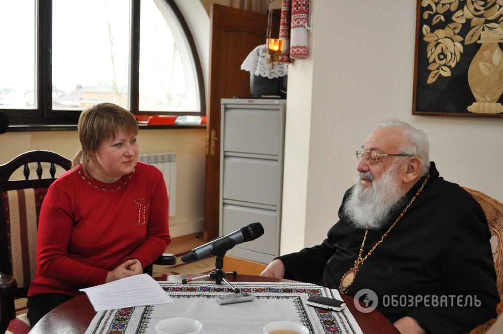 Любомир Гузар: в Україні не громадянська війна, ми виходимо з неправдивого миру