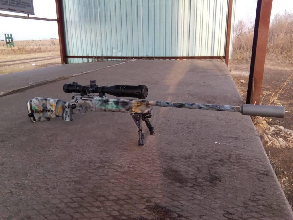 """Волонтеры в память о погибшем герое АТО модернизировали шесть винтовок """"Рекорд"""": опубликованы фото"""