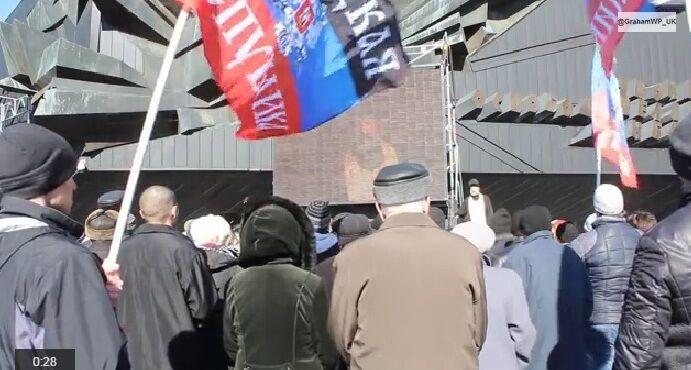 "В Донецке боевики ""ДНР"" провели парад"