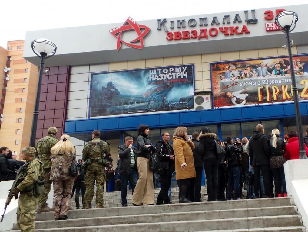 Пореченков скасував прес-конференцію в Донецьку після відвідин кафе: є фото