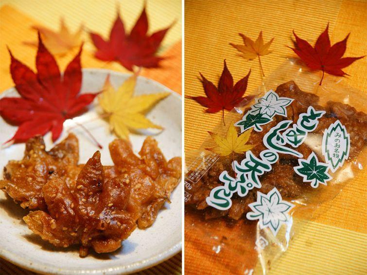 Жаренные кленовые листья во фритюре – новая осенняя закуска