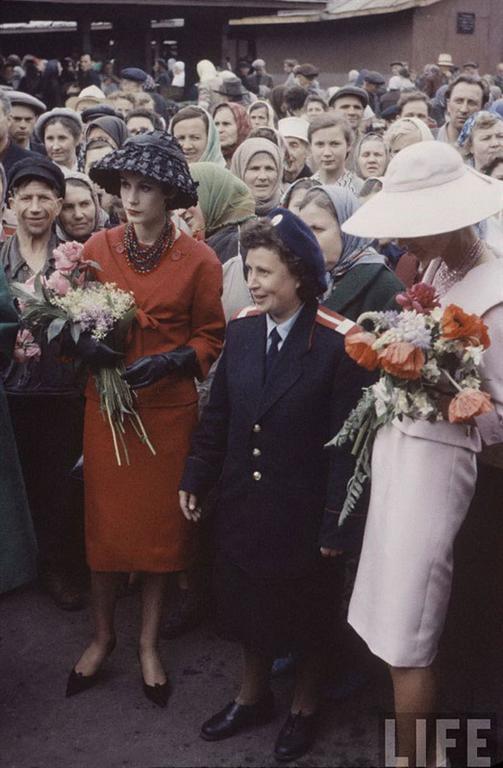 Christian Dior в СССР: уникальные фотографии 1959 года