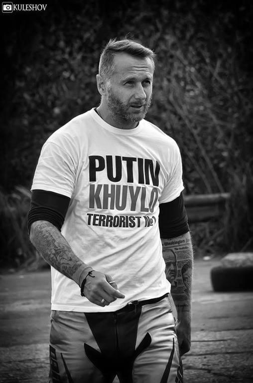 """Экс-муж Ириши Блохиной стал """"киборгом"""" и обещает защищать донецкий аэропорт """"до конца"""""""