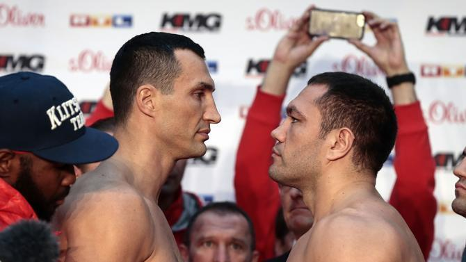 Пулев победил Кличко на взвешивании: опубликованы фото и видео