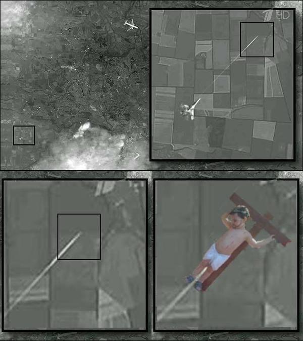 Бандера на НЛО: пропагандистский фейк РФ о Boeing-777 оброс фотожабами