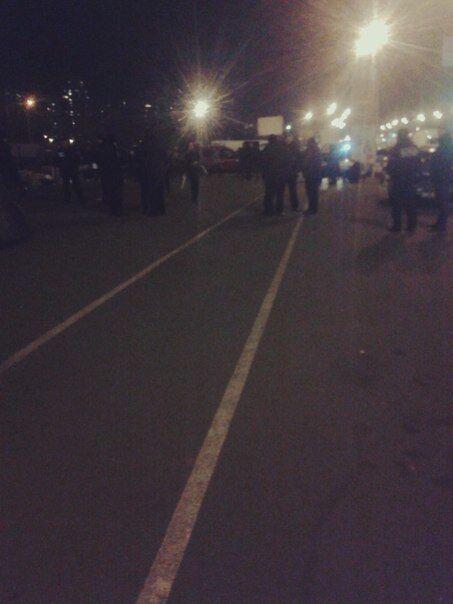 На скандальной стройке в Киеве спецназ избил местных жителей