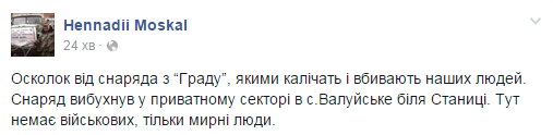 """Москаль показал зверства террористов """"ЛНР"""": опубликованы фото"""