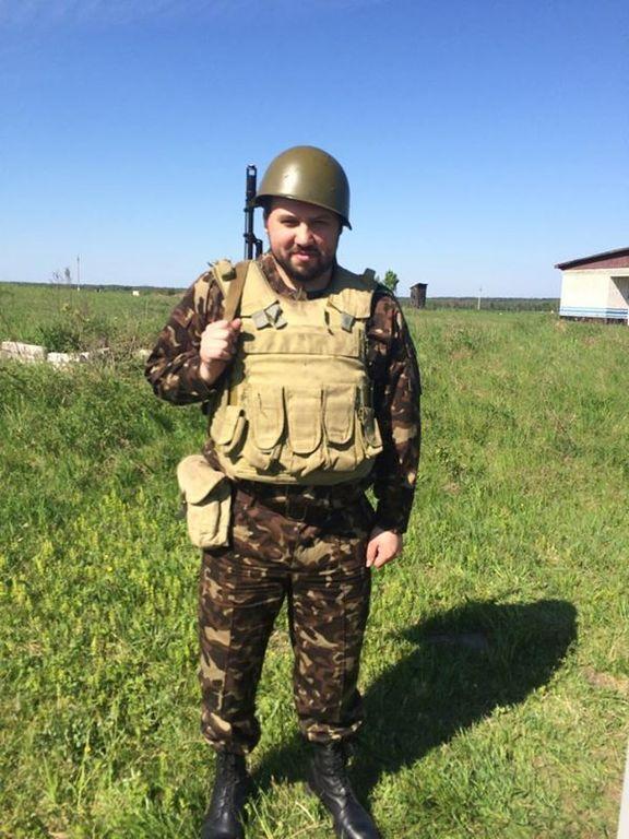 Сын Гриценко похвастался еще одной звездочкой на погонах