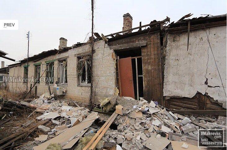 У мережі з'явилися фото і відео наслідків потужного обстрілу Макіївки