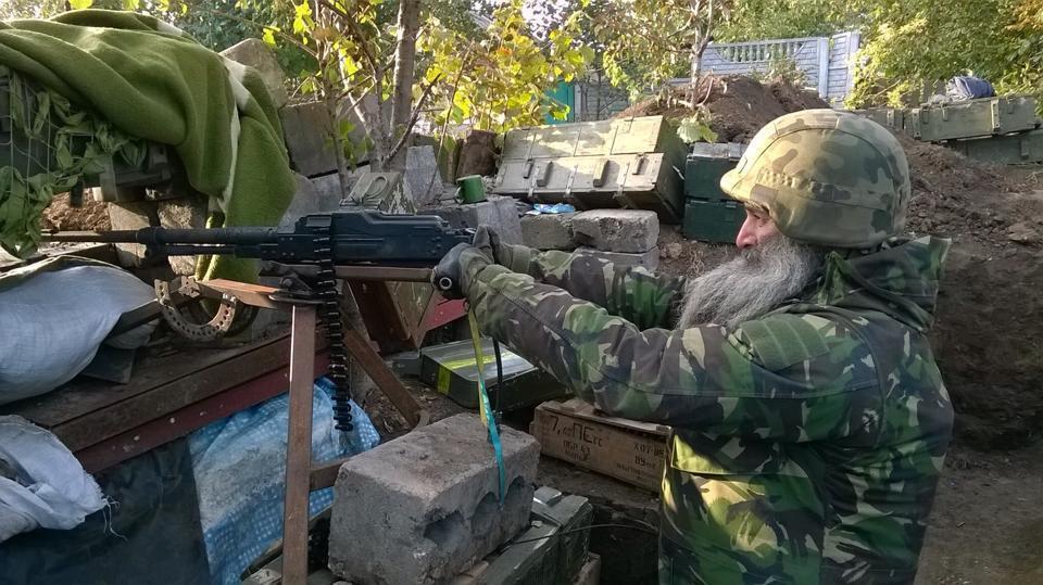 """В батальоне """"Днепр"""" воюет настоящий """"жидобандеровец"""": фото украинского символа сопротивления"""
