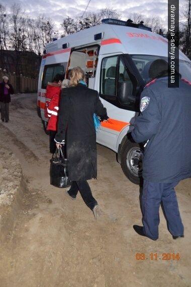 В Киеве застройщик избил активистку