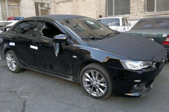 У Дніпропетровську міліція по всьому місту ганялася за водієм з гранатою