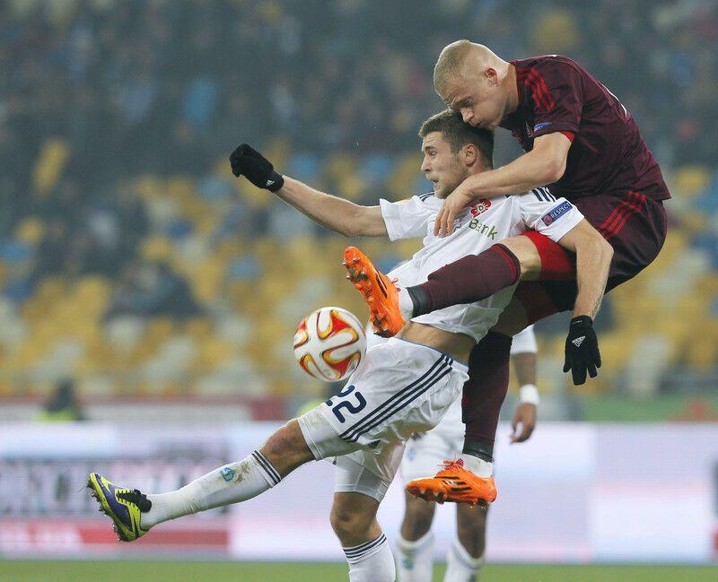 """""""Динамо"""" в меньшинстве вырвало победу в Лиге Европы: фото триумфа"""