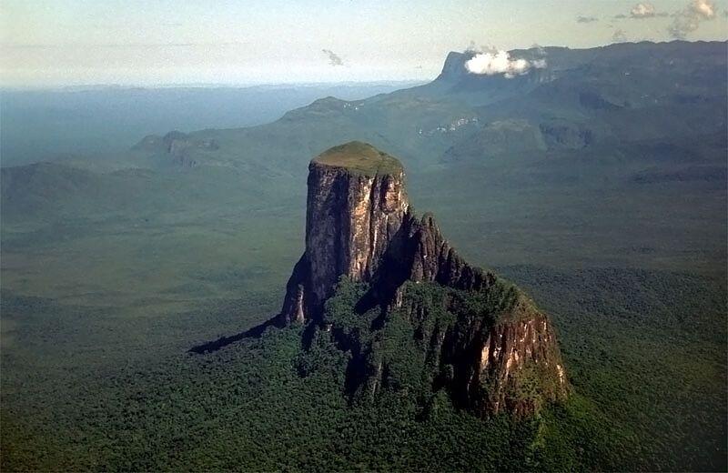 Загадочная Тепуи – место, где не ступала нога человека