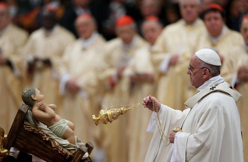 рождественские поздравления папы римского