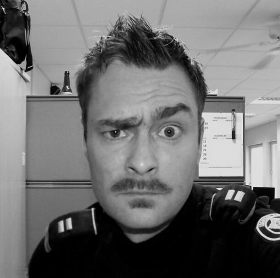 В сети появились веселые фото исландских полицейских-бездельников