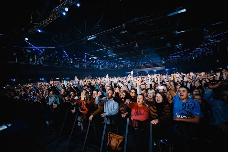 Из-за российского рэпера Басты в Киеве возникла пробка