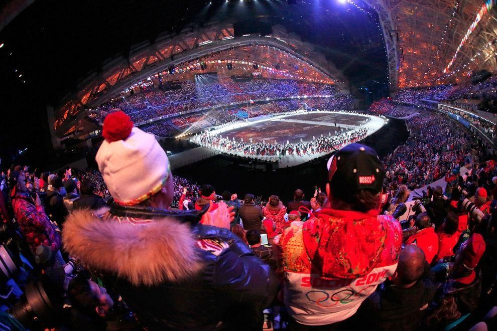 Церемонія відкриття зимових Олімпійських ігор у Сочі