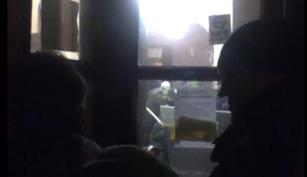 Ночью здание КГГА снова пытались захватить