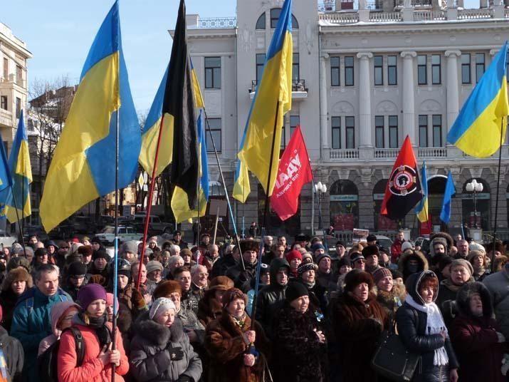 У Харкові відбулася акція Евромайдана