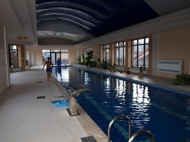 """Син мера Полтави """"засвітив"""" домашній басейн на 25 м"""