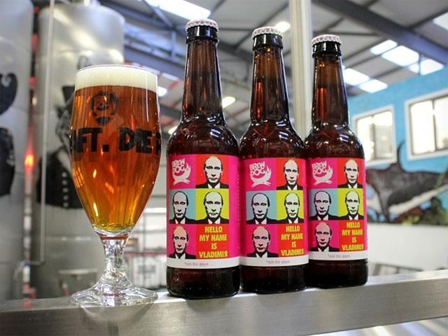 У Шотландії на честь Путіна випустили гетеросексуальное пиво