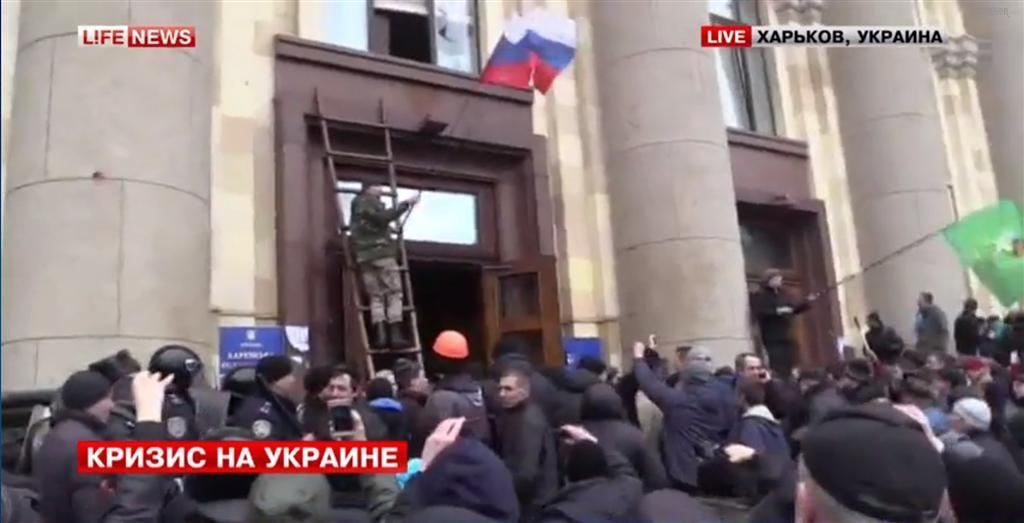 В Харькове начались массовые беспорядки: есть пострадавшие