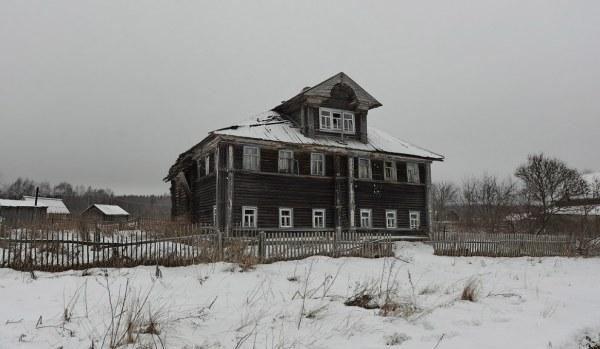 Заброшенные дома российской глубинки