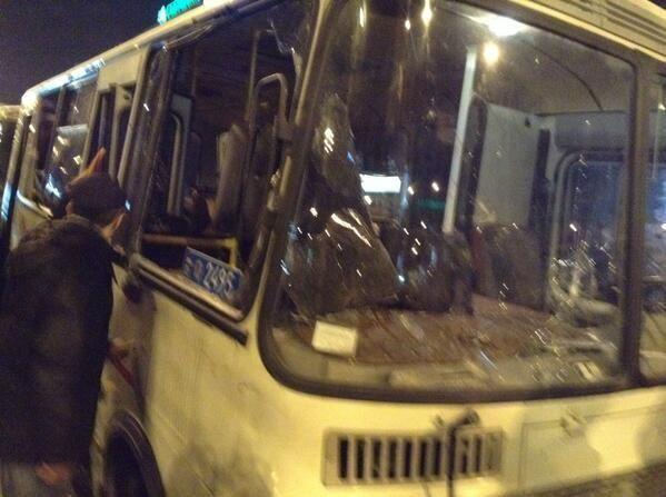 В Донецке пророссийские активисты напали на митингующих за единую Украину
