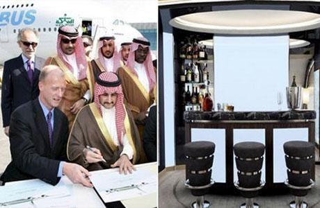 Саудівський принц аль-Валід літає на літаку за $ 500 млн