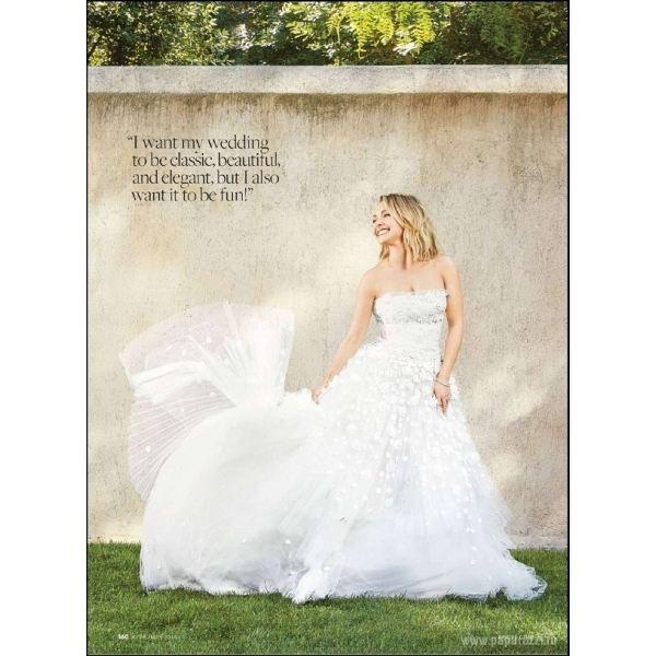 Невеста Кличко примеряет свадебные платья