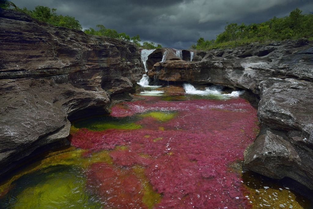 На самой красивой реке мира - Каньо Кристалес