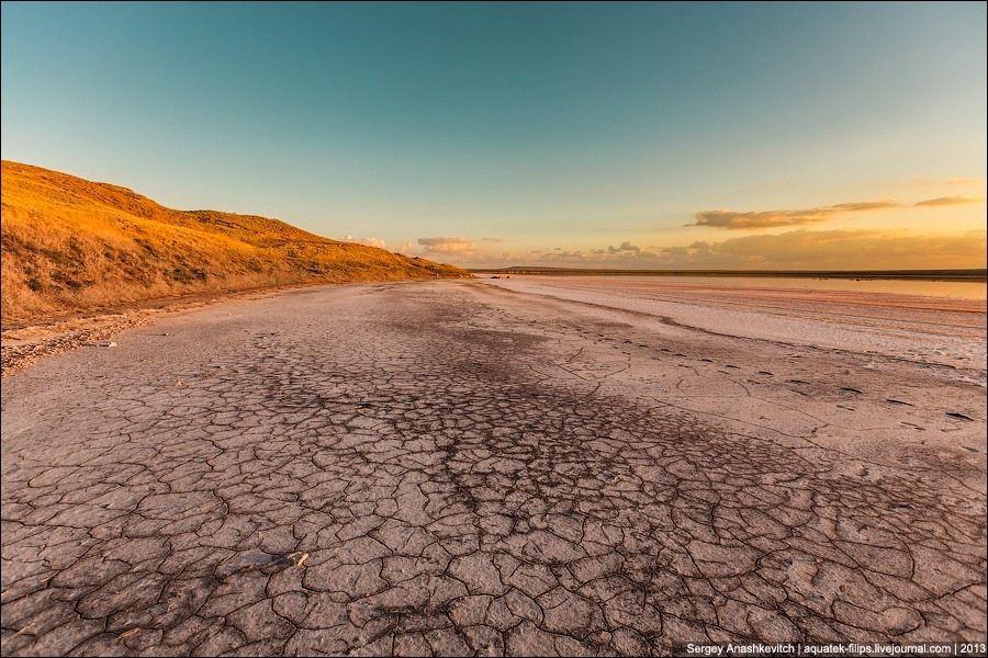 Соляные пустыни Крыма