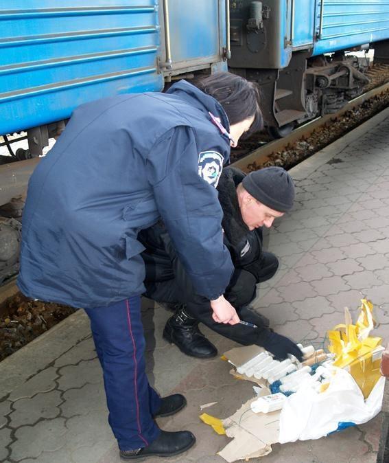 В Харькове задержали четырех мужчин с самодельной взрывчаткой