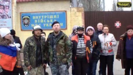В Донецке милиция перешла на сторону сепаратистов и сдала свое здание