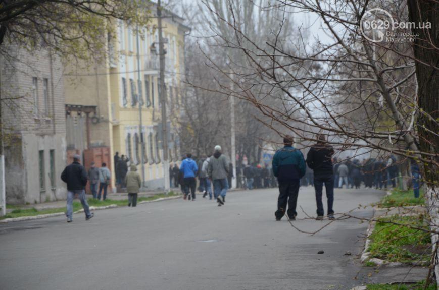 В Мариуполе избили митингующих за единство Украины: шестеро в реанимации