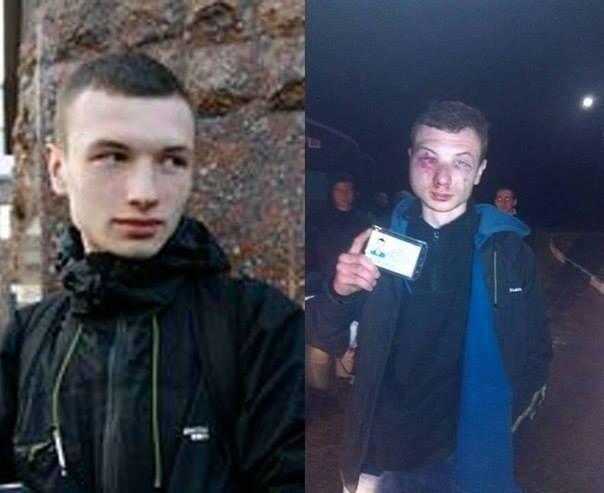 Милиция жестоко избила активистов, ехавших в Харьков