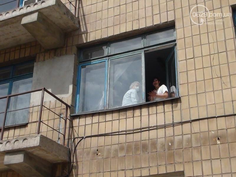 В Мариуполе из больницы похитили пострадавшего при штурме воинской части