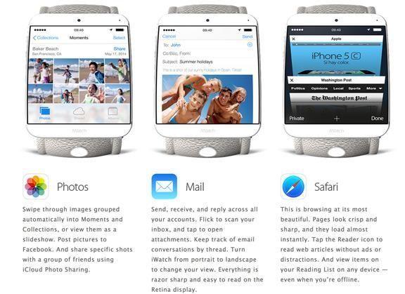 Представлен неофициальный концепт iWatch от Apple